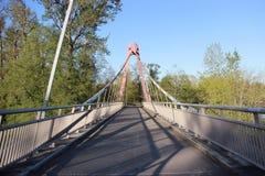 Gehende Brücke Stockfotografie
