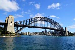 Gehende Hafenbrücke Stockbild