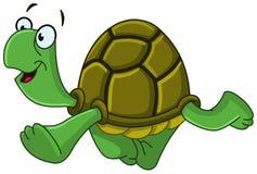 Gehende Schildkröte Stockfotografie