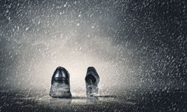 Gehende Schuhe Lizenzfreie Stockfotografie