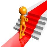 Gehende Treppen Stockfoto