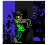 Gehende Zombies Lizenzfreies Stockfoto