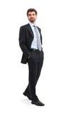 Gehender Geschäftsmann Lizenzfreies Stockfoto