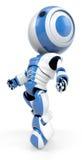 Gehender Roboter stockfoto