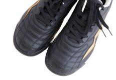 Gehender Schuh getrennt auf Weiß Lizenzfreie Stockfotos