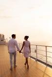 Gehendes Schiff der Paare Stockbilder