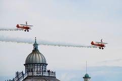 Gehendes Team des Breitling Flügels Lizenzfreies Stockfoto