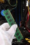 Geheugen in computer Stock Fotografie