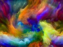 Geheugen van Kleurenmotie stock illustratie