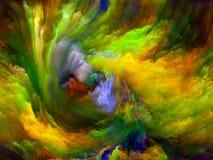 Geheugen van Kleurenmotie vector illustratie