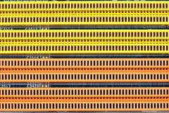 Geheugengroeven, een achtergrond of een textuur Stock Foto