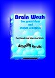 Gehirn-Wäsche Stockbild