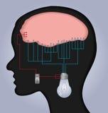 Gehirnabbildung Stockbilder