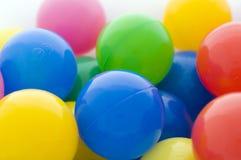 Gehomologeerde kleurenballen Royalty-vrije Stock Foto