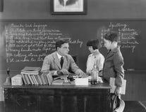 GEHOUDEN NA SCHOOL (Alle afgeschilderde personen leven niet langer en geen landgoed bestaat Leveranciersgaranties dat er geen mod royalty-vrije stock foto's