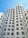 Gehry Bauten в Германии в Duesseldorf, здесь белом здании стоковое изображение