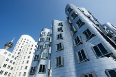 Gehry building Royalty Free Stock Image