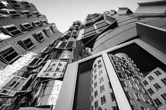 Gehry byggnad Arkivbilder