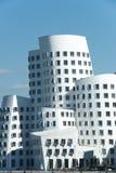 Gehry byggnader Duesseldorf Arkivbilder