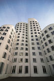 Gehry houses in Düsseldorf, Germany Royalty Free Stock Photo