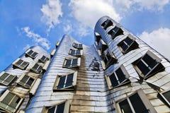 Gehry houses in Düsseldorf Stock Photos