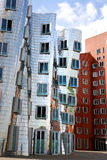 Gehry houses in Duesseldorf Stock Photos