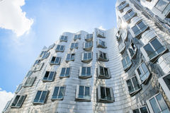 Gehry Houses Duesseldorf Royalty Free Stock Image