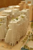 Gehry maquette Obrazy Royalty Free