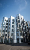 Gehry post-modern architecture Duesseldorf Royalty Free Stock Photography