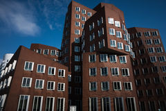 Gehry post-modern architecture Duesseldorf Stock Photography