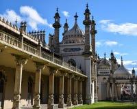 Gehweg der königlichen Pavillons lizenzfreie stockfotos