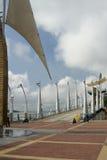 Gehweg malecon Guayaquil 2000 boardwal Lizenzfreie Stockfotos
