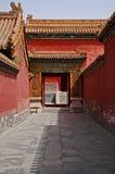 Gehweg, Verbotene Stadt, Peking, China Lizenzfreie Stockbilder