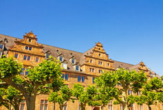 Geißen-Schloss stockfotografie