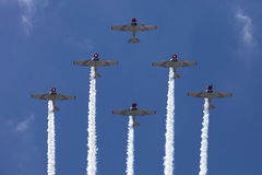 The Geico Skytypers Preforming Precision Aerial Maneuvers in Atlantic City Stock Image