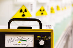 Geiger counter Stock Photography