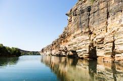 Geiki wąwozu zachodnia australia fotografia royalty free