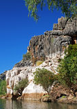 geikie峡谷kimberley 免版税库存照片