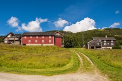Geilo από τη Νορβηγία Στοκ εικόνες με δικαίωμα ελεύθερης χρήσης
