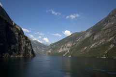 Geirangerfjord Norway Stock Images