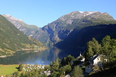 Geiranger Stock Photo