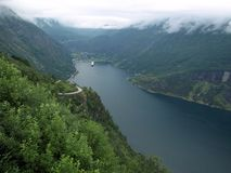 Geiranger Images stock