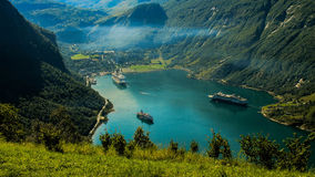 Geiranger Photo stock