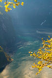 Geiranger autumn. Royalty Free Stock Images