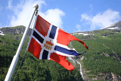 Geiranger Fiord Norway. Europe Nord Stock Photography