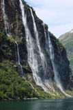 Geiranger Fiord Norway Stock Images