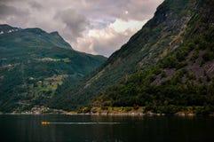 Geiranger-Fjord Lizenzfreies Stockfoto