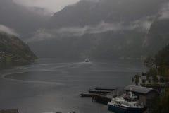 Geiranger fjord Royaltyfri Fotografi