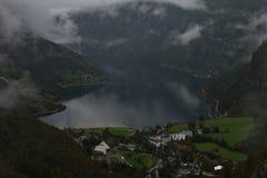 Geiranger fjord Arkivfoton