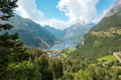 Geiranger Royalty Free Stock Images